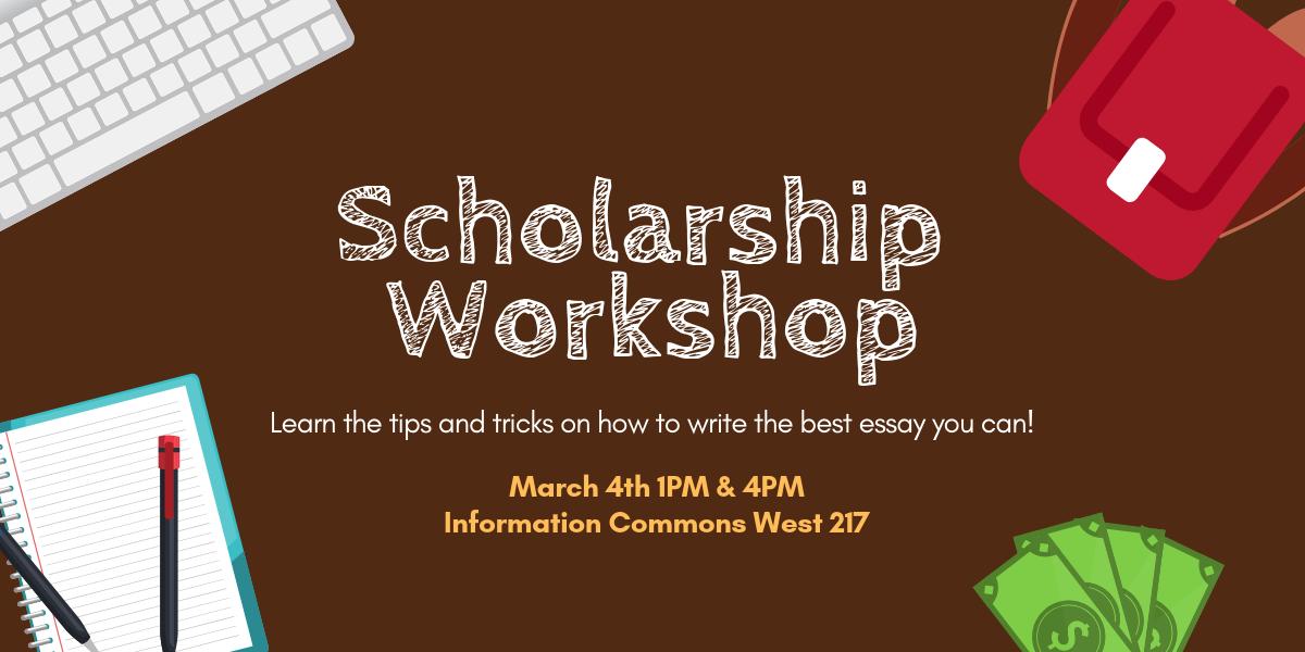 Scholarship Workshop Slider