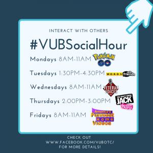 VUB Social Hour Events