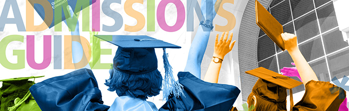 Admissions Guide Banner